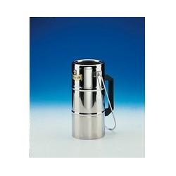 Dewargefäß aus Edelstahl 1000 ml mit Griff Typ GSS 1000 W
