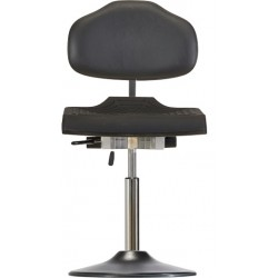 Chair with disc base Classic WS1210 TPU seat with