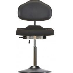 Krzesło na talerzu z kantem PU Classic WS1210TPU siedzisko z