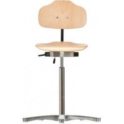 Krzesło wysokie na stopkach Classic WS1011 siedzisko/oparcie z