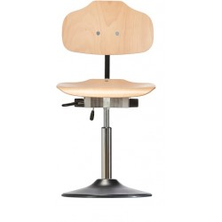 Chair with disc base Classic WS1010 TPU seat/backrest with