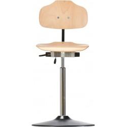 Krzesło wysokie na talerzu z kantem PU Classic WS1011 TPU