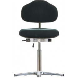 Chair with glides Classic WS1310 seat/backrest with fabric