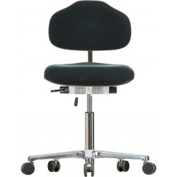 Chair with castors Classic WS1320 seat/backrest with fabric