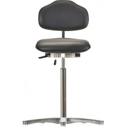 High chair with glides Classic WS1311 KL seat/backrest with
