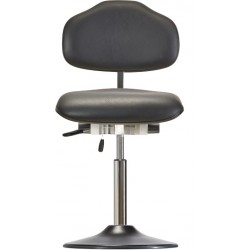 Chair with disc base Classic WS1310 TPU KL seat/backrest with