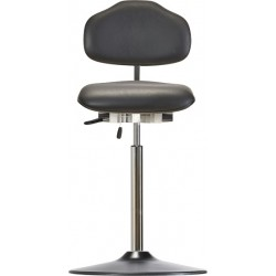 High chair with disc base Classic WS1311T KL seat/backrest with