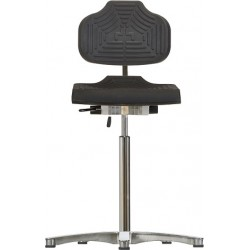 High chair with glides WS1211 E ESD Classic seat/backrest with