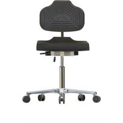 Krzesło na kółkach WS1220 E ESD Classic siedzisko/oparcie z