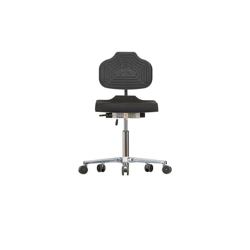 Chair with castors WS1220 E ESD Classic seat/backrest with