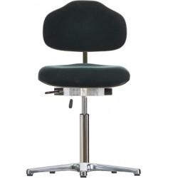 Leitfähiger Drehstuhl mit Gleitern WS 1610 ESD Classic Sitz und