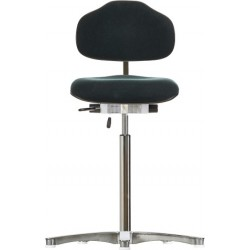 High chair with glides WS1611 ESD Classic seat/backrest with