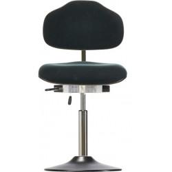 Leitfähiger Drehstuhl mit Tellerfuß WS 1610 T ESD Classic Sitz