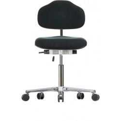 Krzesło na kółkach WS1620 ESD Classic siedzisko/oparcie z