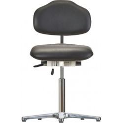 Krzesło na stopkach WS1610 ESD KL Classic siedzisko/oparcie ze