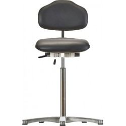 High chair with glides WS1611 ESD KL Classic seat/backrest with