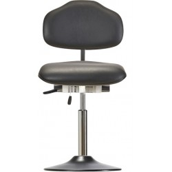 Chair with disc base WS1610 T ESD KL Classic seat/backrest with