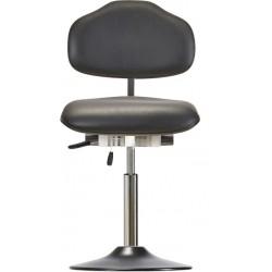 Krzesło na talerzu WS1610 T ESD KL Classic siedzisko/oparcie ze