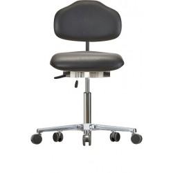 Krzesło na kółkach WS1620 ESD KL Classic siedzisko/oparcie ze