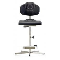 Krzesło wysokie na stopkach do wilgotnych pomieszczeń WS1411