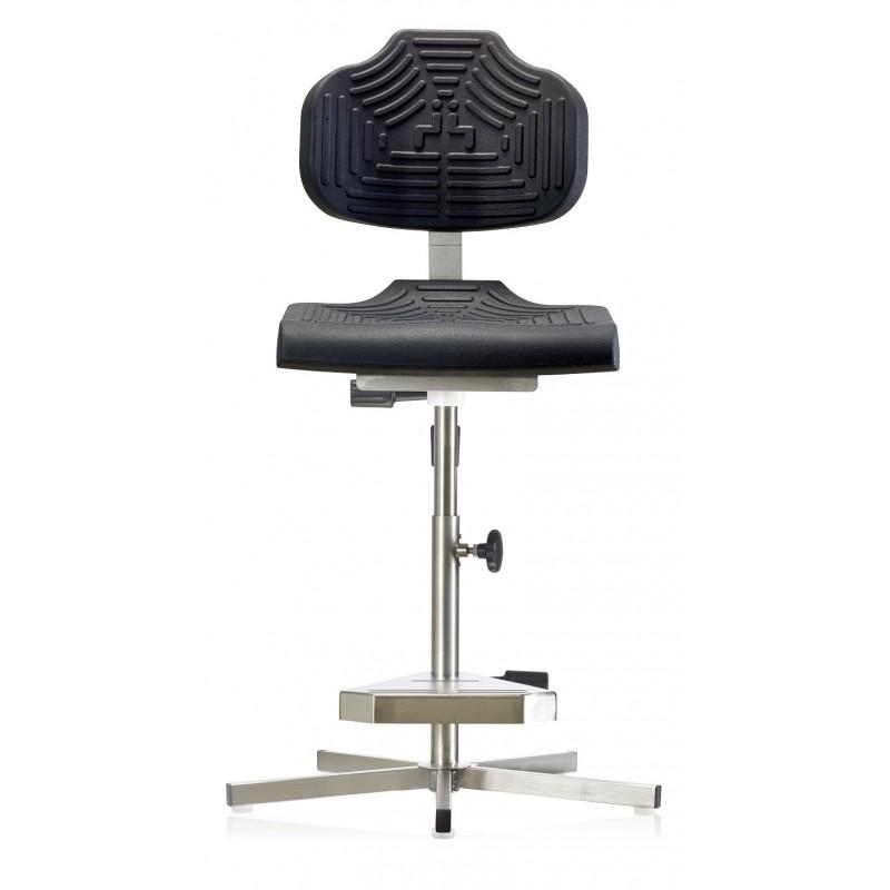 Hochstuhl WS1411 für Nassräume Soft-PUR-Sitz und Lehne Fuß und