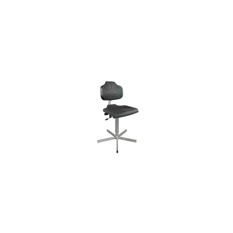 Arbeitsstuhl WS1401.10 für Nassräume Soft-PUR-Sitz und Lehne