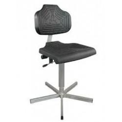 Arbeitsstuhl WS1401.11 für Nassräume Soft-PUR-Sitz und Lehne