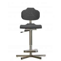 Krzesło wysokie na stopkach do wilgotnych pomieszczeń WS1411 GF