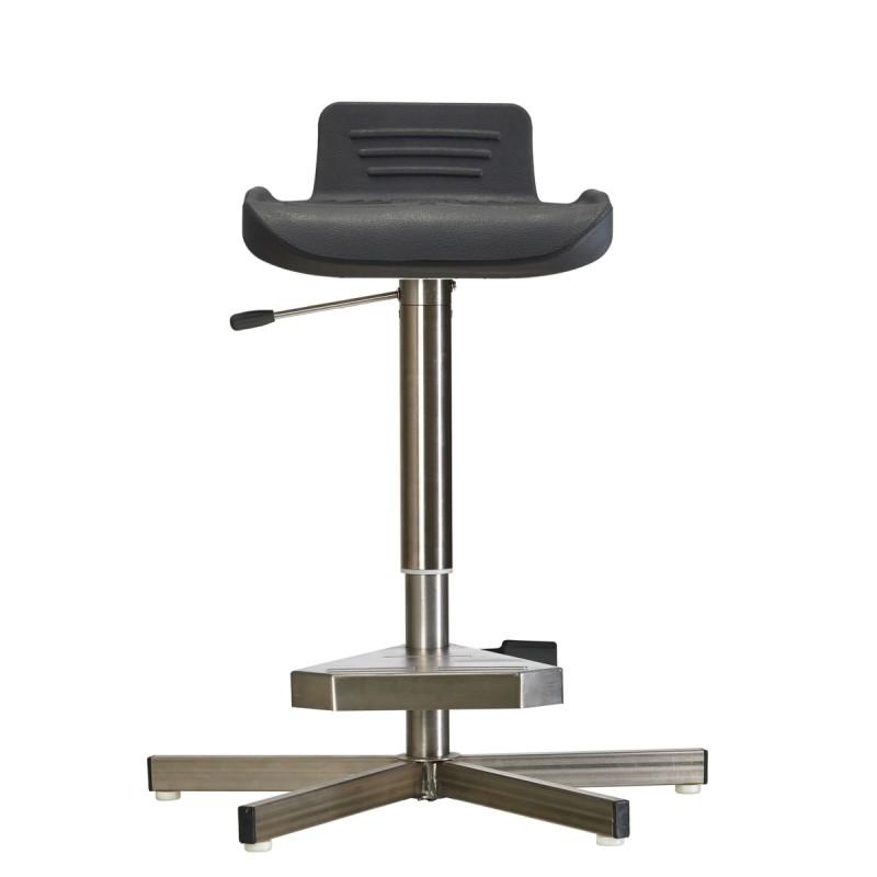 Stehhilfe WS144211 GF für Nassräume Soft-PUR-Sitz Fuß und