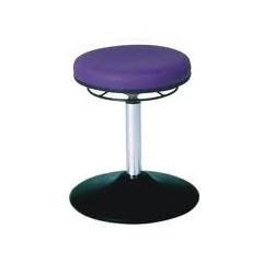 Rotary stool with disc base WS3310 T KL Classic seat with