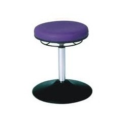 Rotary stool with disc base WS3310 TPU KL Classic seat with