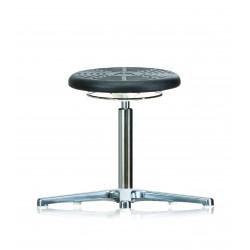 Drehhocker WS3010 PU Classic Soft-PUR-Sitz Fuß Gleiter Höhe