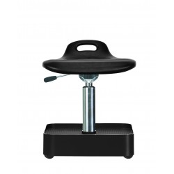 Stool WS4022 Classic seat with Soft-PU 380-470 mm