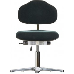Chair with glides WS1387.20 for small person seat/backrest with