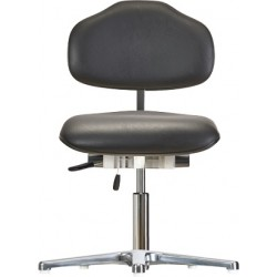 Chair with glides WS1387.20 KL for small person seat/backrest