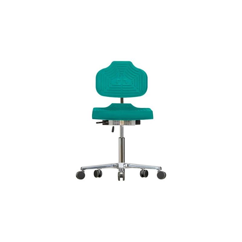 Krzesło na kółkach Classic WS1220 E siedzisko/oparcie z Soft-PU