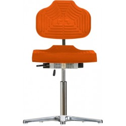 Chair with glides Classic WS1210 E seat/backrest with Soft-PU