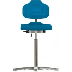 High chair with glides Classic WS1211 E seat/backrest with