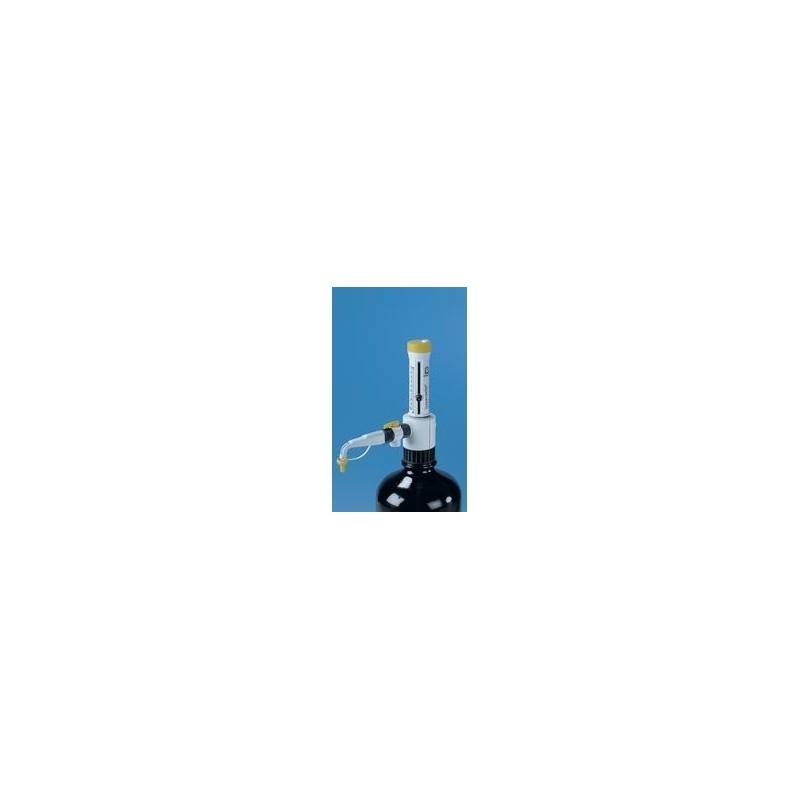 Dispensette S Organic Analog 5 … 50 ml Rückdosierventil