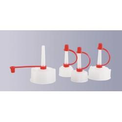 Dropper cap PE-LD GL28 pack 10 pcs.