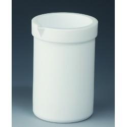 Becher 2000 ml PTFE niedrige Form Ausguss
