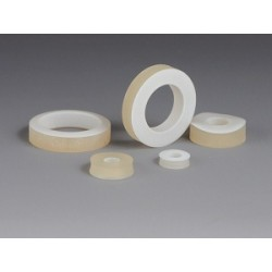 One-Sided Gaskates SILICON/PTFE for GL 18 A-Ø 16 mm I-Ø 8 mm