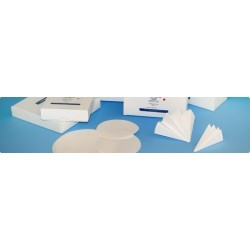 Glasfaserfilter Grade GB ø 37 mm 143 g/m2 VE 50 Stck.