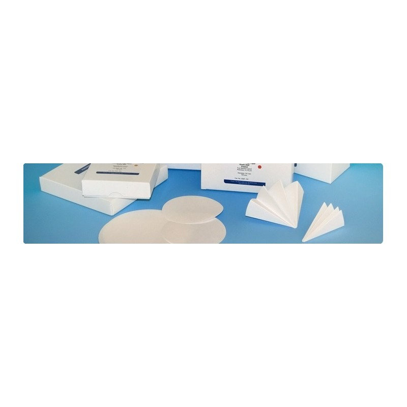 Glasfaserfilter Grade GB ø 125 mm 143 g/m2 VE 25 Stck.