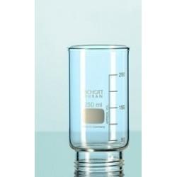 Filtrieraufsatz Duran 250 ml mit Gewinde