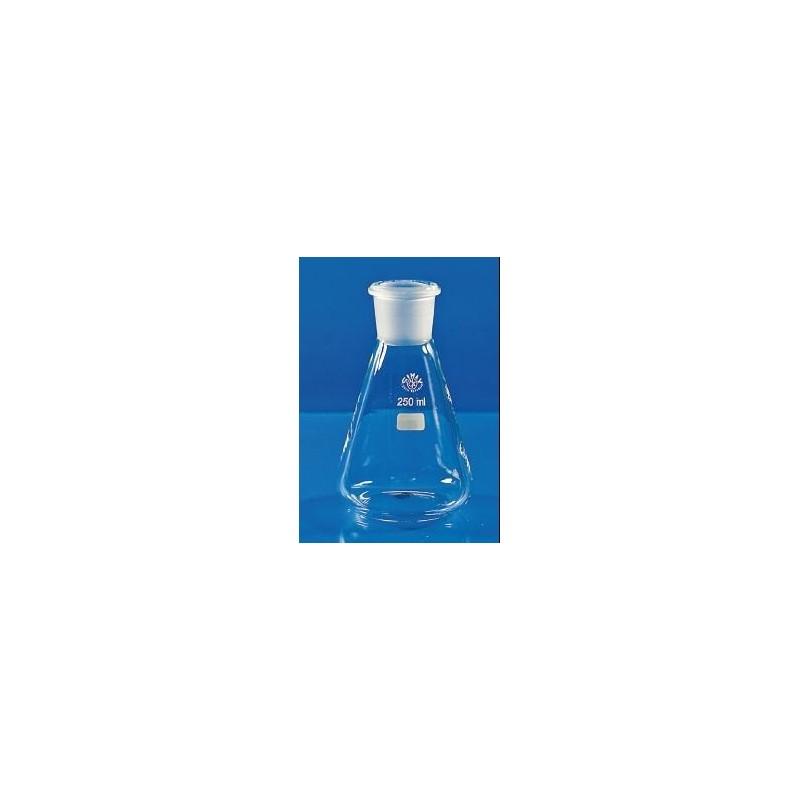Erlenmeyerkolben 200 ml Borosilikatglas 3.3 NS 29/32 Teilung VE