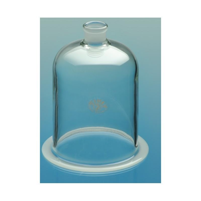 Glasglocke mit NS 29/32 und Flansch Ø150 Höhe 200 mm