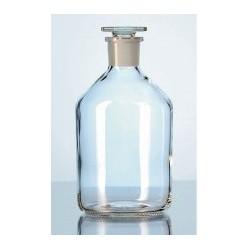Butla laboratoryjna z korkiem szklanym szlifowanym szkło