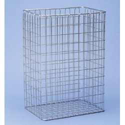 Collecting basket stainless steel LxWxH 350 x 245 x 500 mm