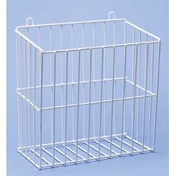 Collecting basket LxWxH 310x190x325 mm 18/10-steel PE-white